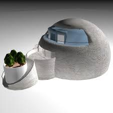 igloo house stucco