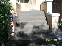 concrete chicago stairs slabs illinois home improvement