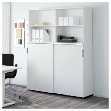 Ikea Galant Office Furniture Galant Storage Combination W Sliding Doors Black Brown Ikea