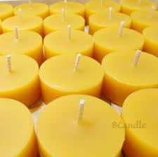 100 beeswax tea lights candles and tea light holder