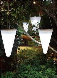 hanging solar garden light cornet shaped solar lights solar