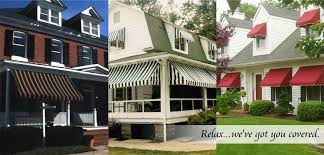 Residential Canvas Awnings Awnings Windows Porches Doors Retractable And Patios Pyc Awnings