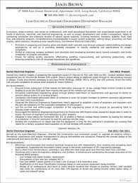 Electrical Supervisor Resume Sample by Lead Electrical Engineer Sample Resume 11 Engineering Supervisor