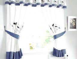 White Curtains With Blue Trim White Curtains With Gray Trim Chair Bedroom Transitional With Gray