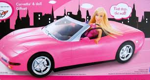barbie toy cars buy barbie remote radio control corvette convertible vehicle car