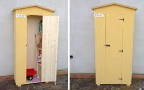 armadi in legno per esterni armadio in legno da esterno cod 02 amico legno shop