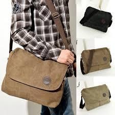 travel bags for men images Military men crossbody bag travel satchel canvas vintage shoulder jpg