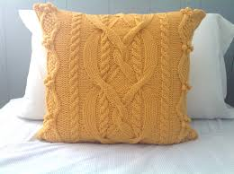 fresh cable knit decorative pillows 20805
