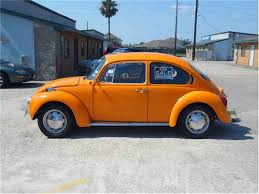 orange volkswagen beetle 1973 volkswagen beetle for sale classiccars com cc 334910
