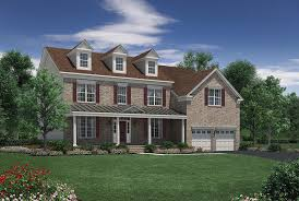 Impressive Design 7 Colonial Farmhouse Woodlands At Warwick The Hopewell Home Design