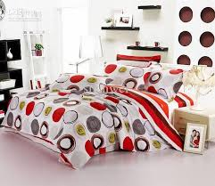 Cheap Black Duvet Covers Round Modern Pattern Bedding Set Duvet Cover Queen King Bed Sheet