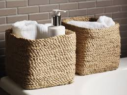 Bathroom Storage Containers by Bathroom Storage Boxes And Baskets Bathroom Photo Gallery And