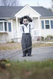 Halloween Costume 1 Boy Cool Diy Edward Scissorhands Halloween Costume Boy Edward