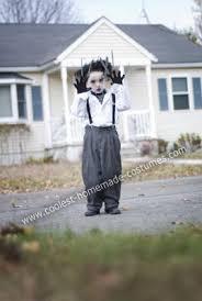 Halloween Costumes 1 Yr Boy Cool Diy Edward Scissorhands Halloween Costume Boy Edward