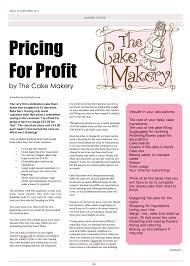 wedding cake ingredients list november cake masters magazine learning how to price for profit