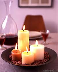 candle arrangements candle centerpieces martha stewart