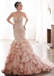 Pink Wedding Dresses With Sleeves Best 25 Blush Wedding Gowns Ideas On Pinterest Pink Wedding