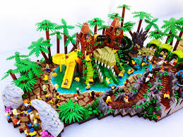 lego legends of chima water park croc swamp water parks lego