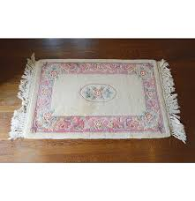 hand carved aubusson style chinese wool rug ebth