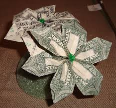 how to make a money origami flower bliss tree gift ideas