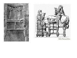 assyrian furniture