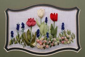 cottage house embroidery kit