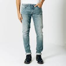 mens light blue jeans skinny mens skinny slim jeans in light wash 95 dstld