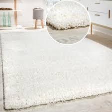 Schlafzimmer Teppich Rund Hochflor Shaggy Langflor Teppich Versch Farben U Grössen Top