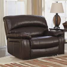 2 Seater Recliner Leather Sofa Oversized Recliners You U0027ll Love Wayfair