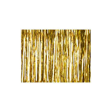 rideau de fils m礬tallises or ou argent