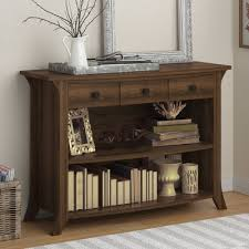 robinwood 3 drawer console table darby home co plumville console table wayfair