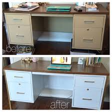 Diy Metal Desk Diy Metal Desk Makeover Whitegold Wy Living Of Office