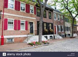 attractive georgian brick row house on delancey street a