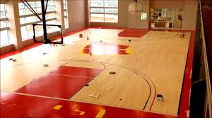 decoration awesome fascinating indoor basketball court ideas how