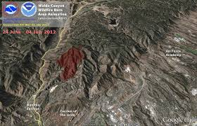 Colorado Wildfire Training Academy by National Weather Service Pueblo Co Waldo Canyon Burn Scar