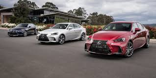 jaguar xf vs lexus is 250 lexus is model range pricing and specs new looks and more kit for