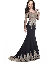 amazon com kivary sheer long sleeves crystals vintage gold lace