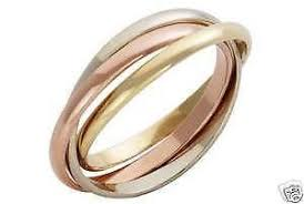 russian wedding rings 9ct gold russian wedding ring ebay
