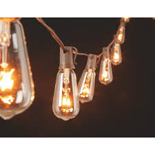 Edison Bulb Patio String Lights by Gerson Edison St40 Bulb String Lights 2201330 Do It Best