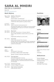 Resume For Mall Jobs Columnist Resume Samples Visualcv Resume Samples Database