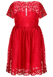 chi chi london curvy nuria cocktail dress party dress red