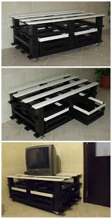 Living Room Pallet Table 71 Best Tv Stand Images On Pinterest Tv Stands Entertainment