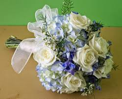 wedding flowers blue and white white summer wedding bouquets fresh flowers
