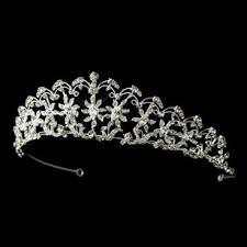 bridal tiara marquise rhinestone sun floral wedding bridal tiara