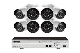 1080p camera system with 8 channel dvr and 8 1080p outdoor
