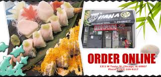hana japanese cuisine hana sushi and restaurant order chicago il