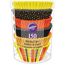 halloween cupcake liners 150 count cupcake liners and count