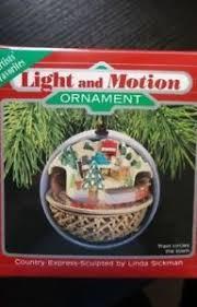 hallmark 1988 continental express light motion ornament ebay