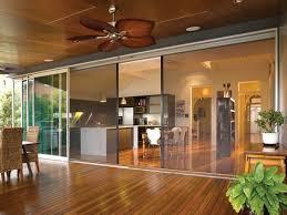 Patio Door Insect Screen Perfect Retractable Screen With Stacker Door Backyard Alfresco