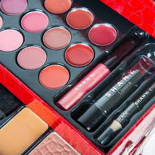 shany all in one makeup kit eyeshadow blushes powder lipstick
